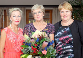Pictured left to right: Mrs Linda Sates (Acting Deputy Principal), Mrs Lorrel Wissing (Principal) and Mrs Delene Barnard (Chairlady of the Governing Body)